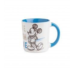 MUG MICKEY LIVE LAUGH LOVE BLU  ML.390